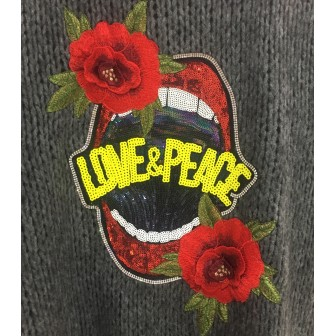 Gilet love and peace
